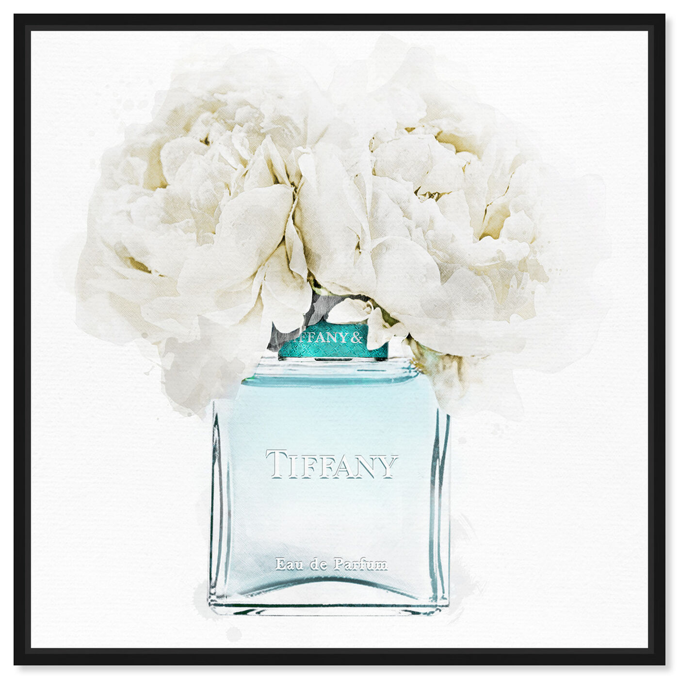 Front view of Dawn Morning Bouquet Aquamarine featuring fashion and glam and perfumes art.