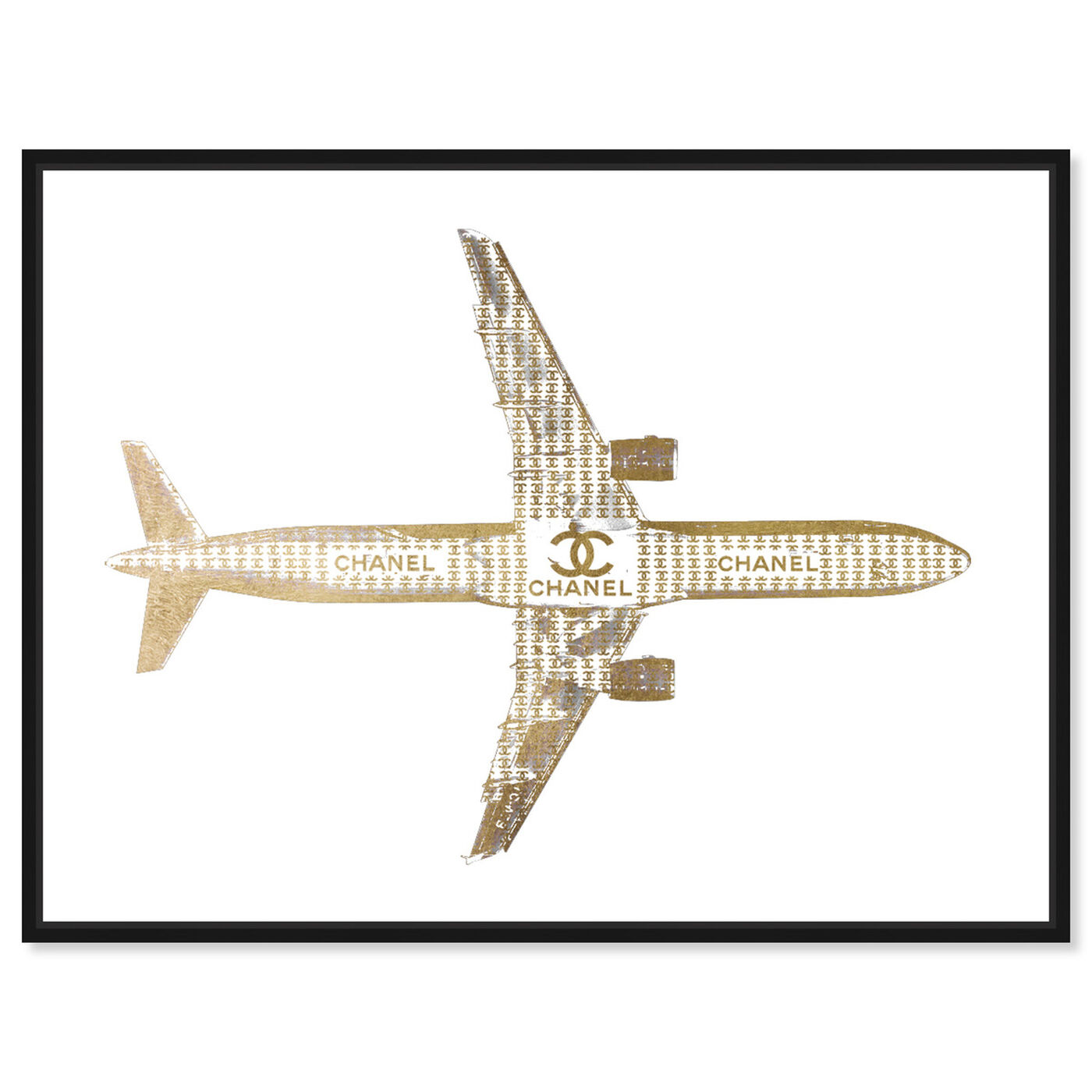 Front view of Trendsetter CC Airlines featuring fashion and glam and lifestyle art.