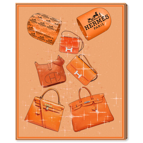 Handbags Orange Boost