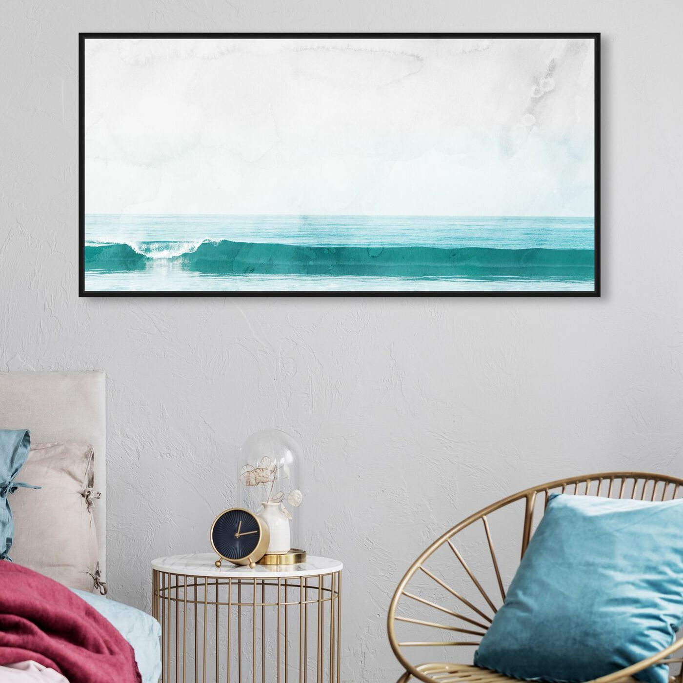 Hanging view of The Wave featuring nautical and coastal and coastal art.