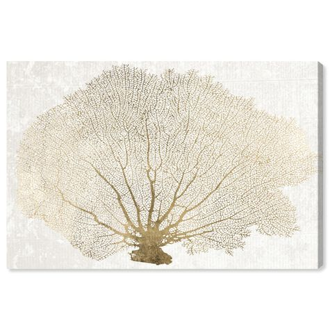 Gold Coral Fan