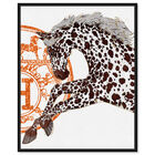 Front view of Appaloosa Cavalier II featuring fashion and glam and fashion art. image number null