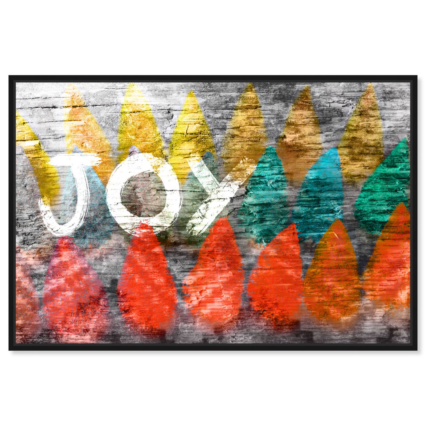 Front view of Joy Nativo featuring holiday and seasonal and holidays art.