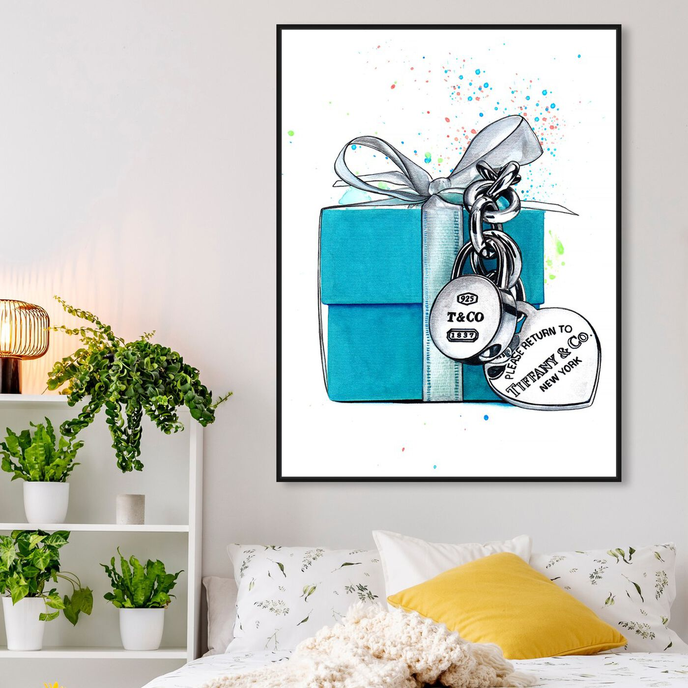 Hanging view of Doll Memories - New York Gift featuring fashion and glam and jewelry art.