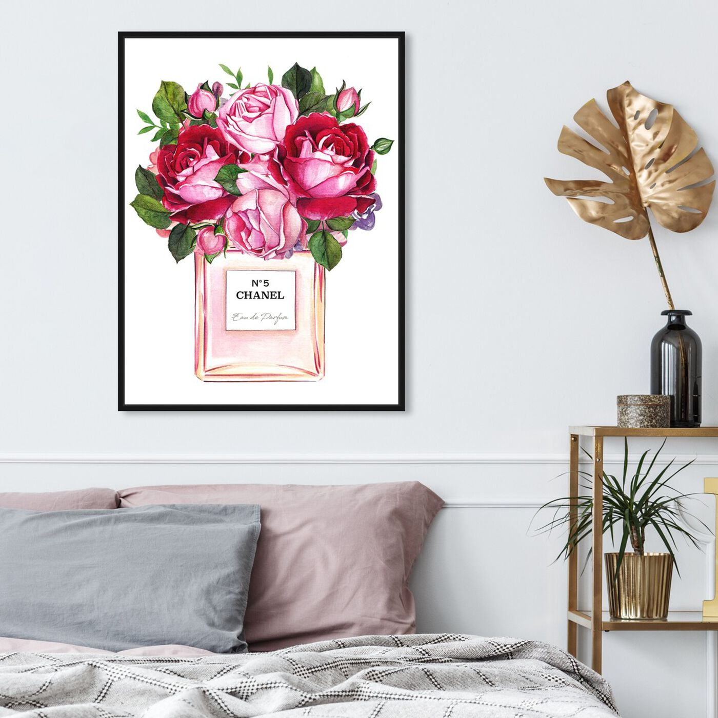Hanging view of Doll Memories - Roses Scent featuring fashion and glam and perfumes art.