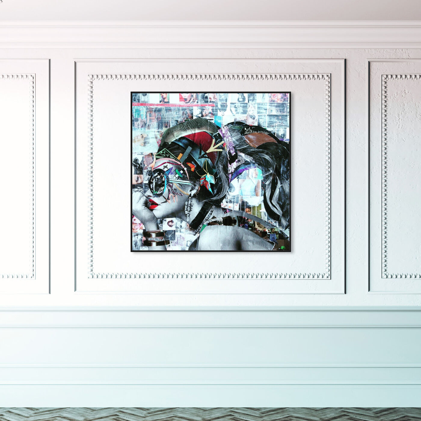 Hanging view of Aphrodite by Katy Hirschfeld featuring people and portraits and portraits art.