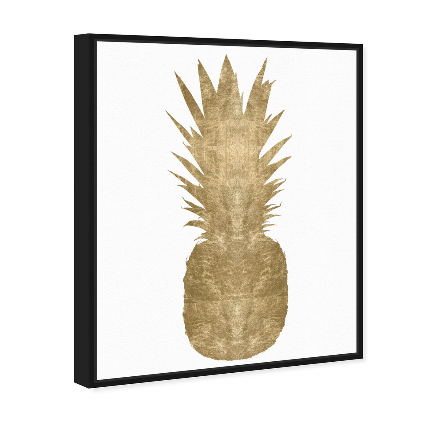 Angled view of Pineapple featuring food and cuisine and fruits art.