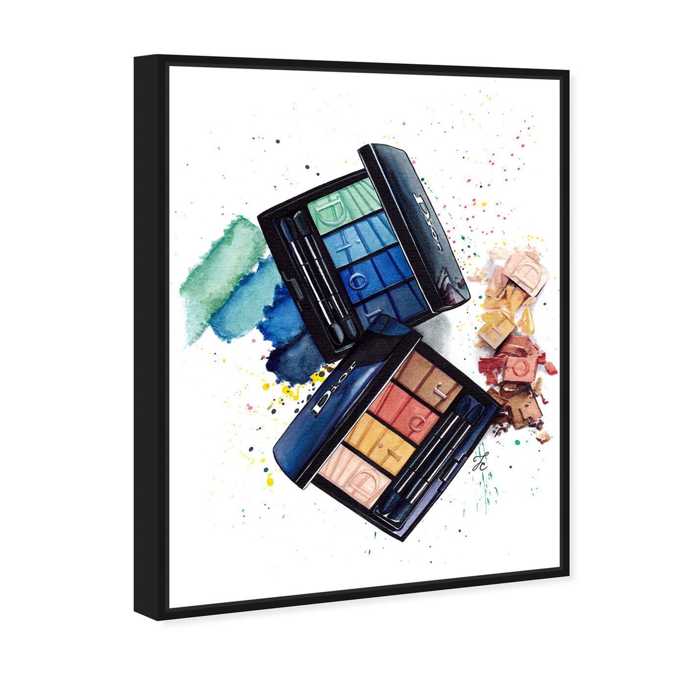 Angled view of Doll Memories - Makeup Summer featuring fashion and glam and makeup art.