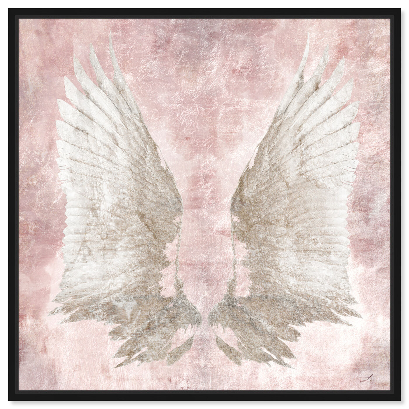 Front view of Chie's Freedom Wings featuring fashion and glam and feathers art.