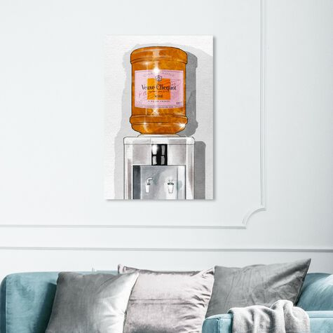 Parisian Orange Champagne Watercooler
