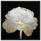 Front view of Gold and Light Floral II featuring floral and botanical and florals art. image number null