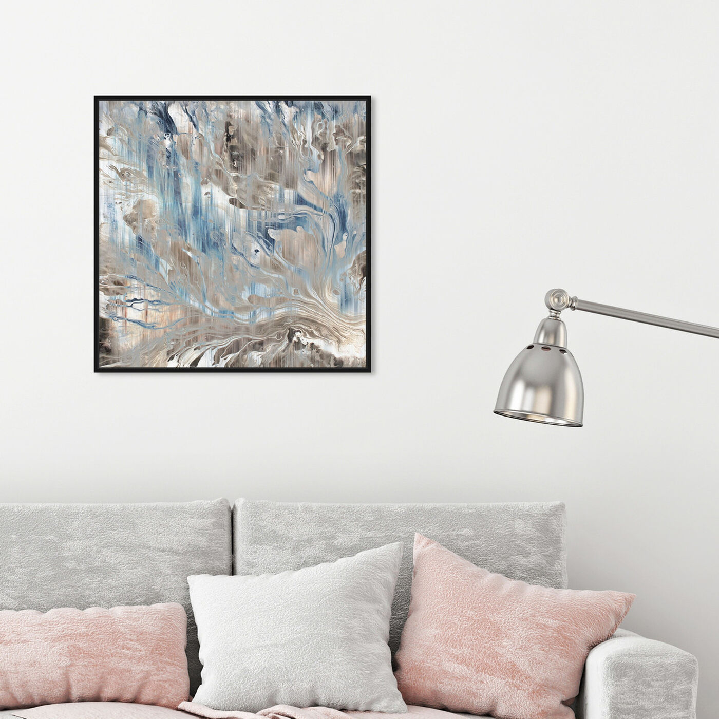Hanging view of Marmolato featuring abstract and paint art.