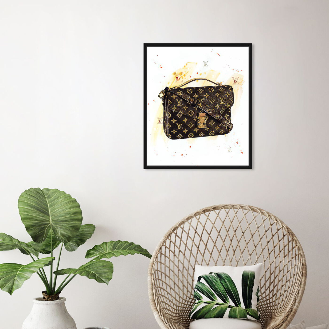 Hanging view of Doll Memories - Lavish Hand Bag Splashes featuring fashion and glam and handbags art.