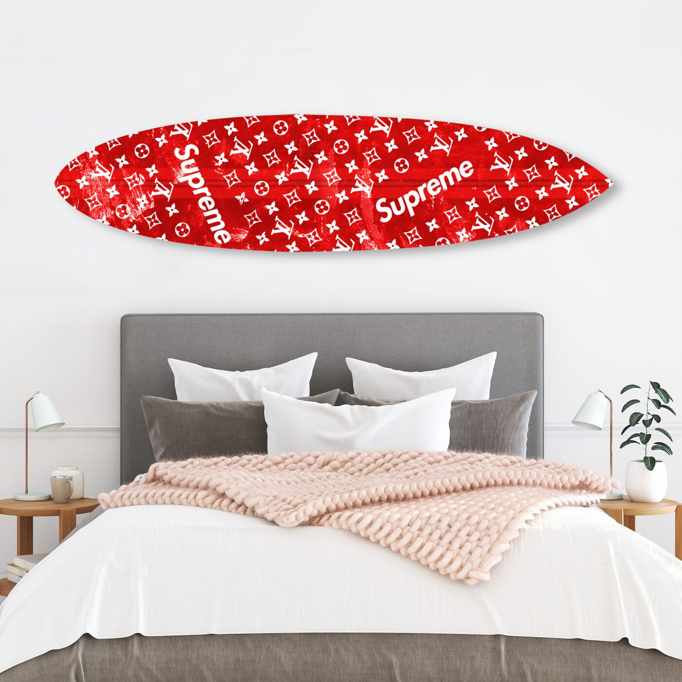 Red Urban Surfboard