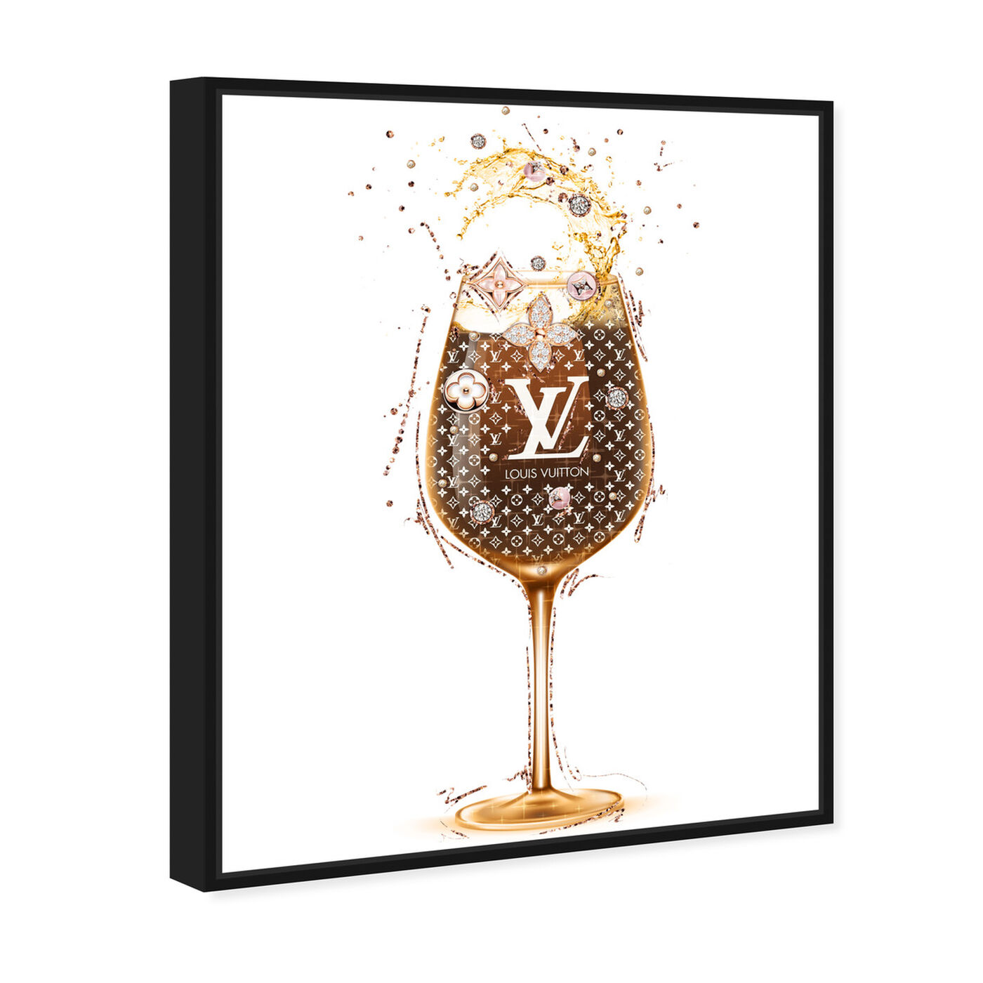 Angled view of French Toast featuring drinks and spirits and wine art.