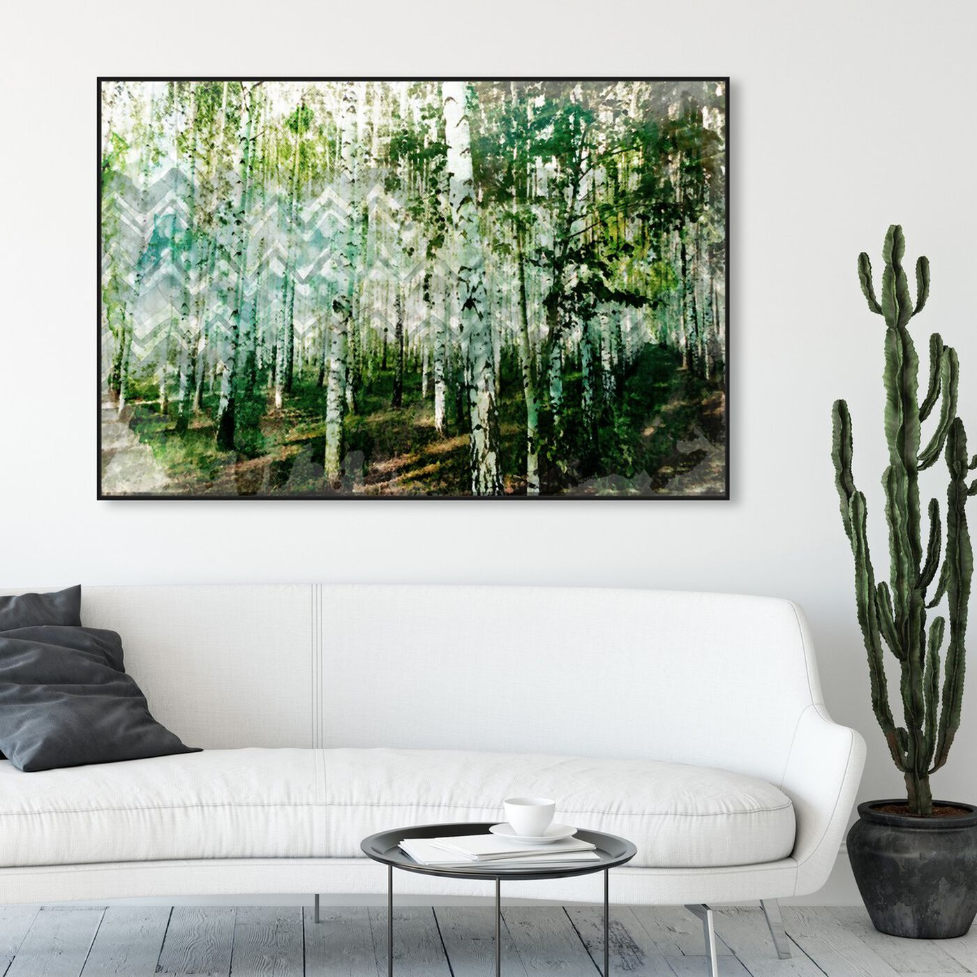 Hanging view of Madera featuring nature and landscape and forest landscapes art.
