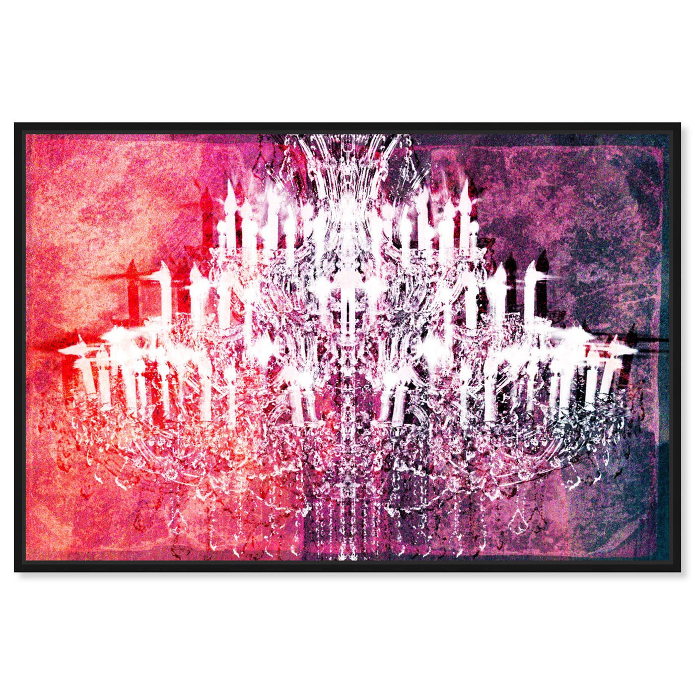 Front view of Ethereal Vision Reversed featuring fashion and glam and chandeliers art.
