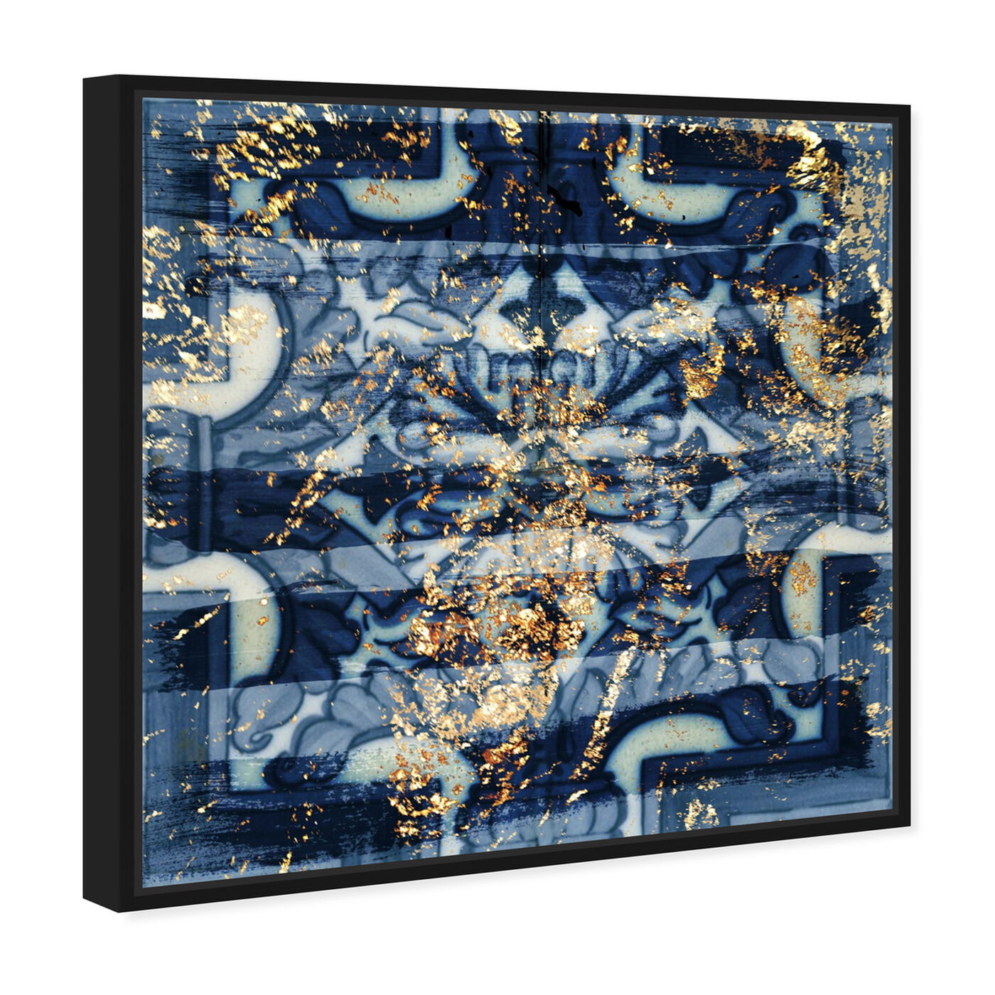 Angled view of Tileaux featuring abstract and patterns art.