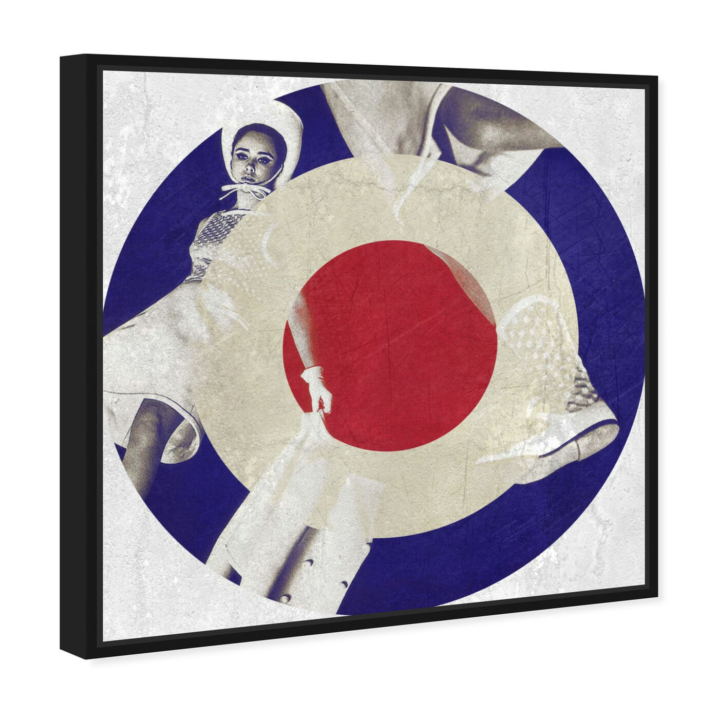 Angled view of Mod Dance featuring music and dance and vinyl records art.