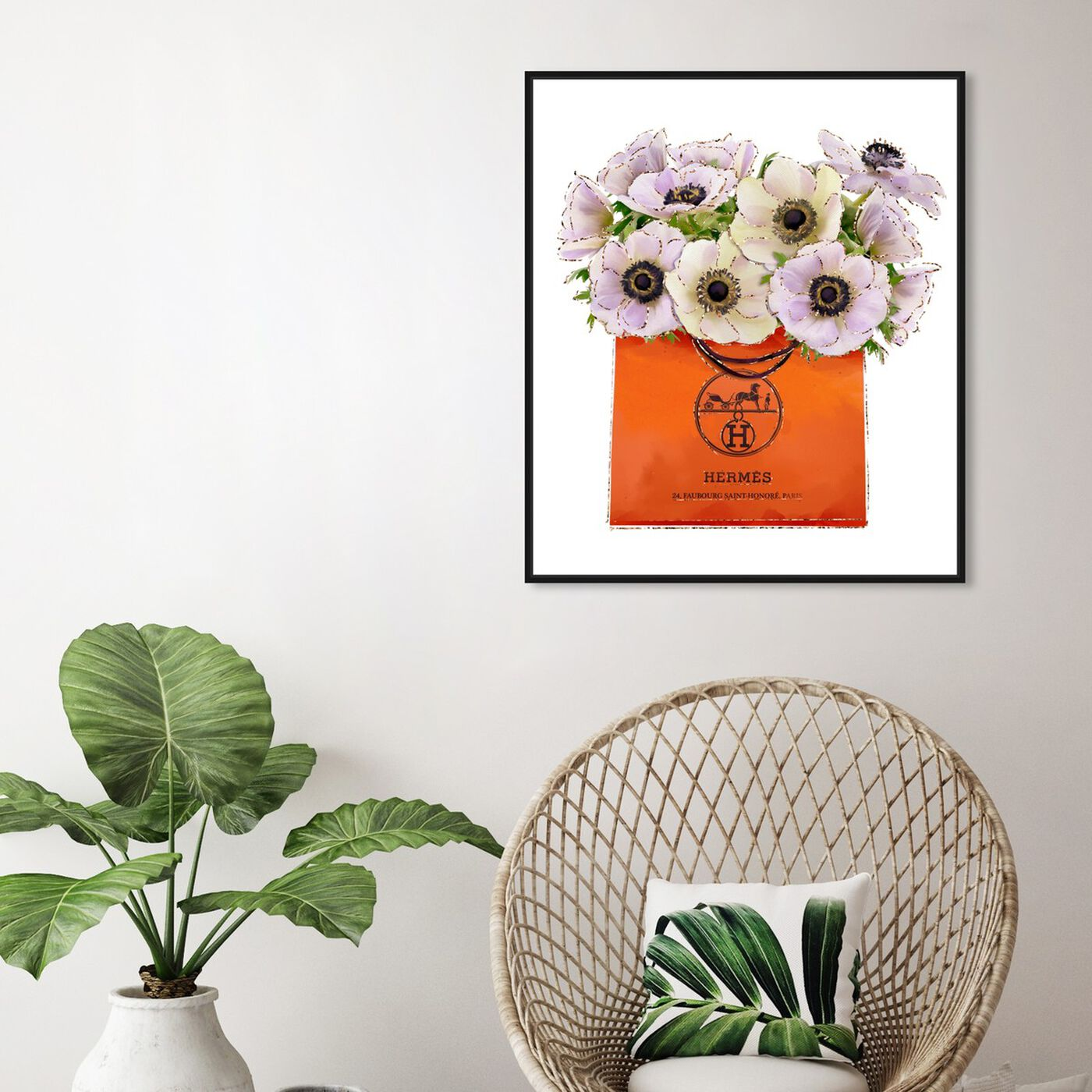 Hanging view of Orange For You featuring fashion and glam and lifestyle art.