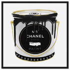 Front view of Fashion Paint featuring fashion and glam and cans art. image number null