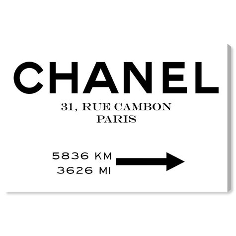 Couture Road Sign Minimalist I