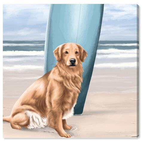 Surfer Golden Retriever