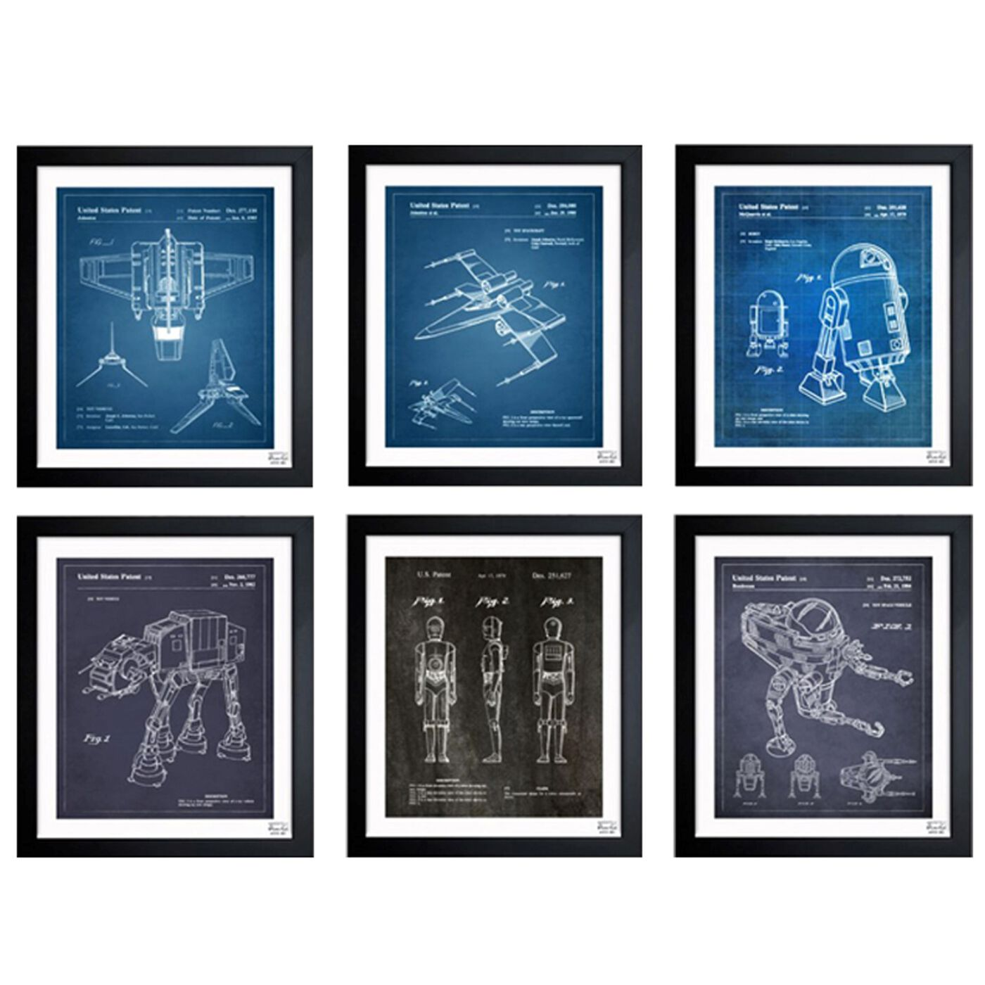 Space Toys Set of 6