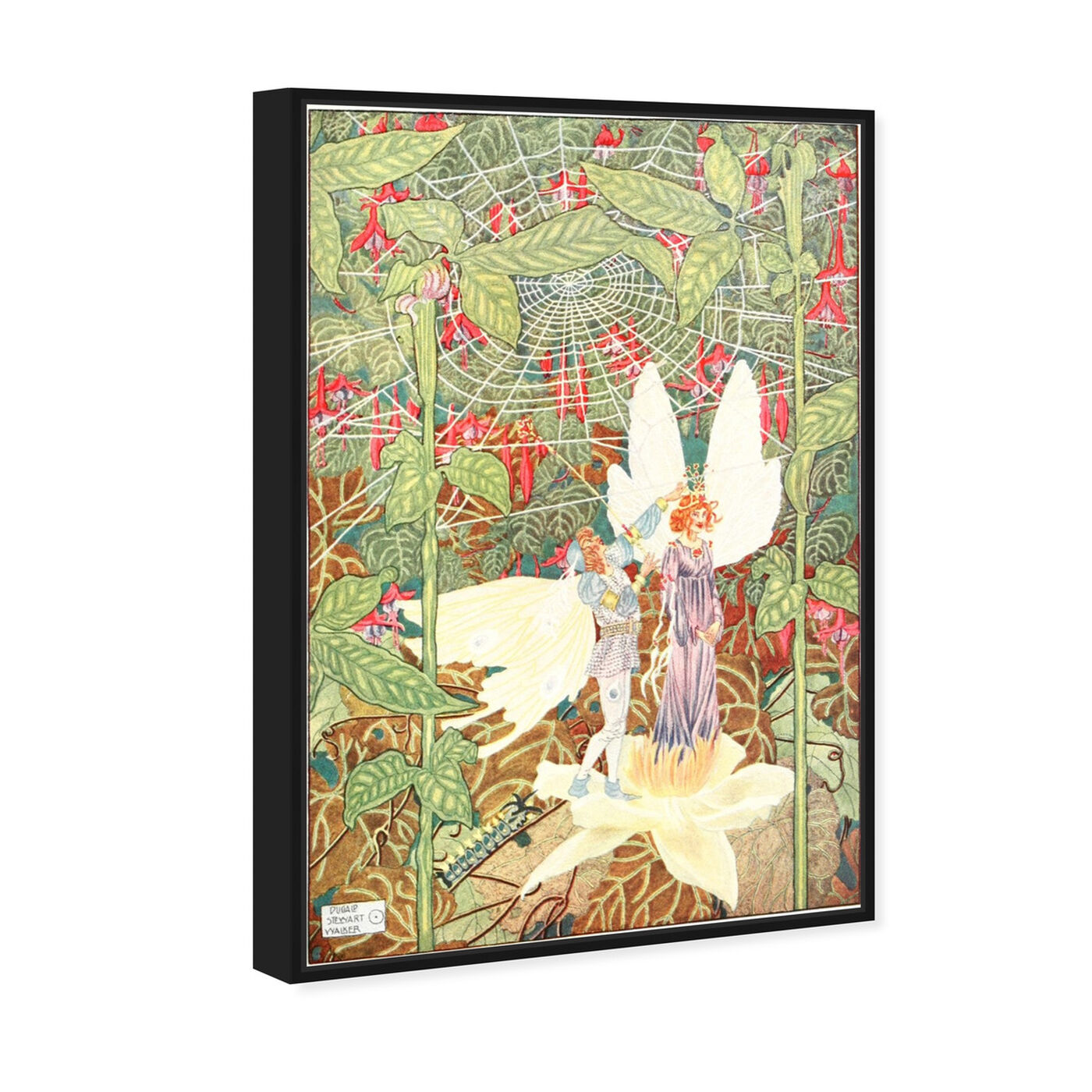 Angled view of Andersen Fairy Tales II featuring fantasy and sci-fi and fairy tales art.