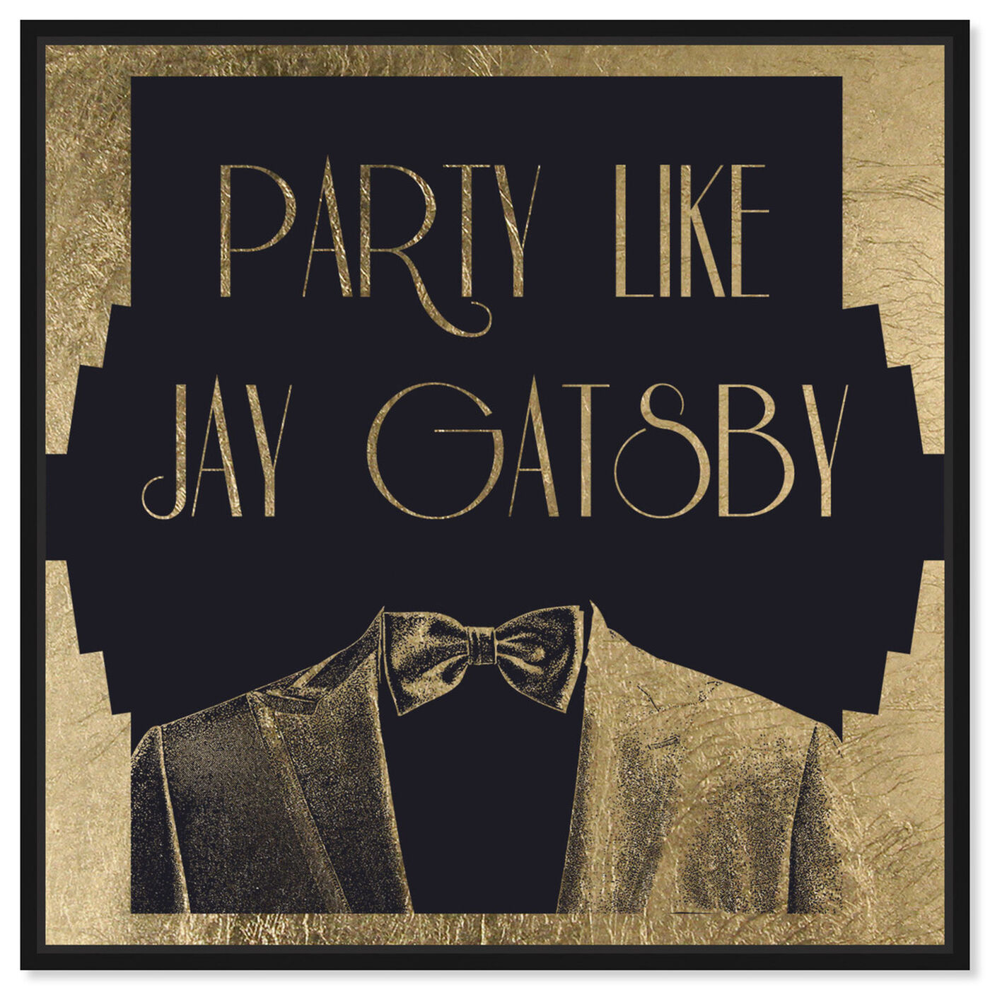 Front view of Party Like II featuring typography and quotes and funny quotes and sayings art.