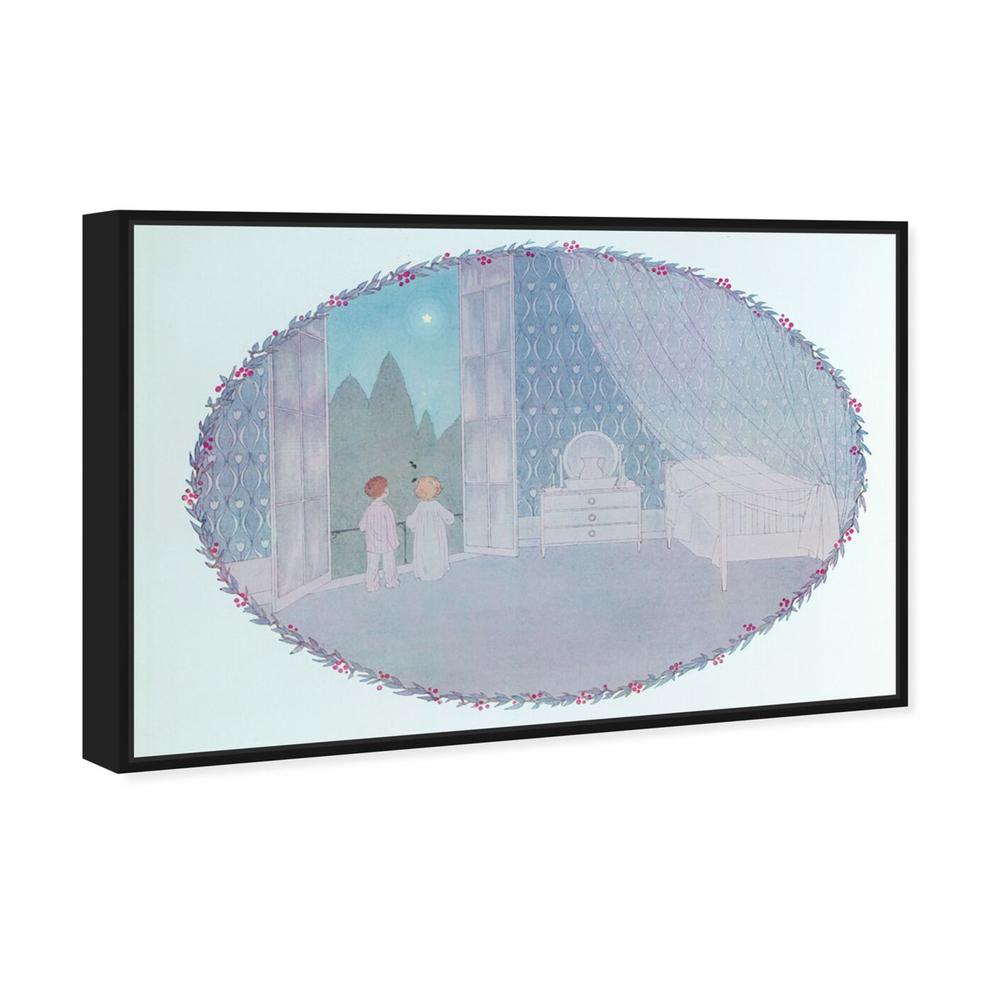 Angled view of Twinkle Twinkle Little Star featuring nature and landscape and skyscapes art.