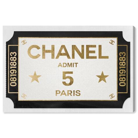 Ticket Admit One Paris