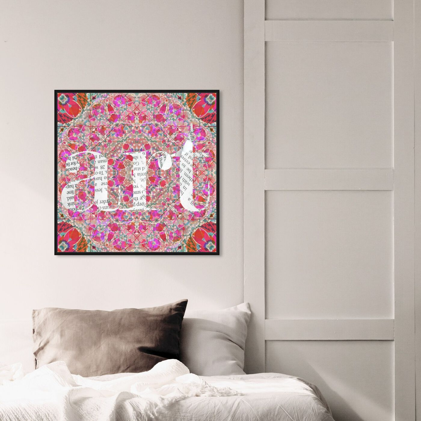 Hanging view of Suzart featuring abstract and patterns art.