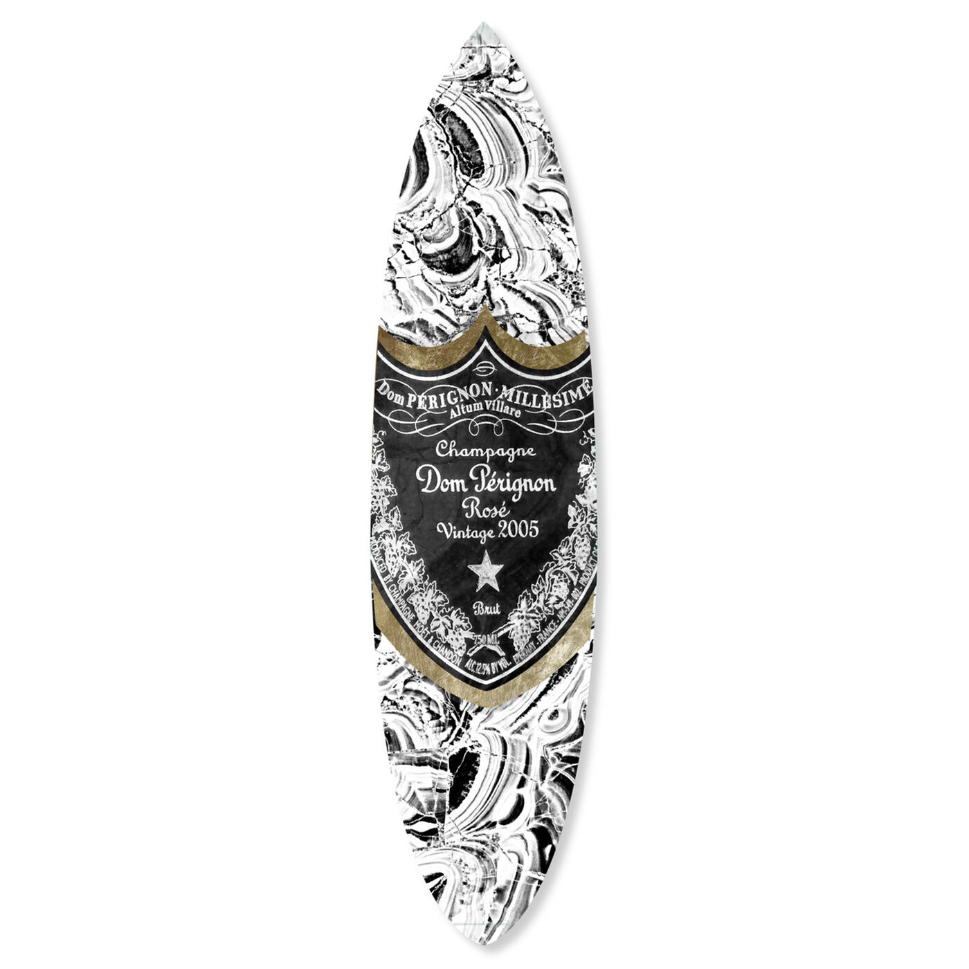 Champagne Surfboard Lux