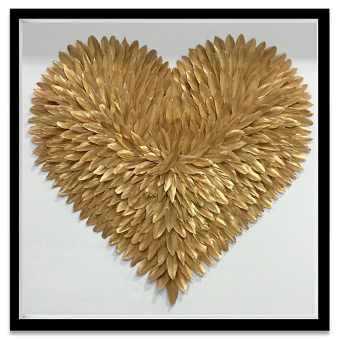 Feather Love Gold