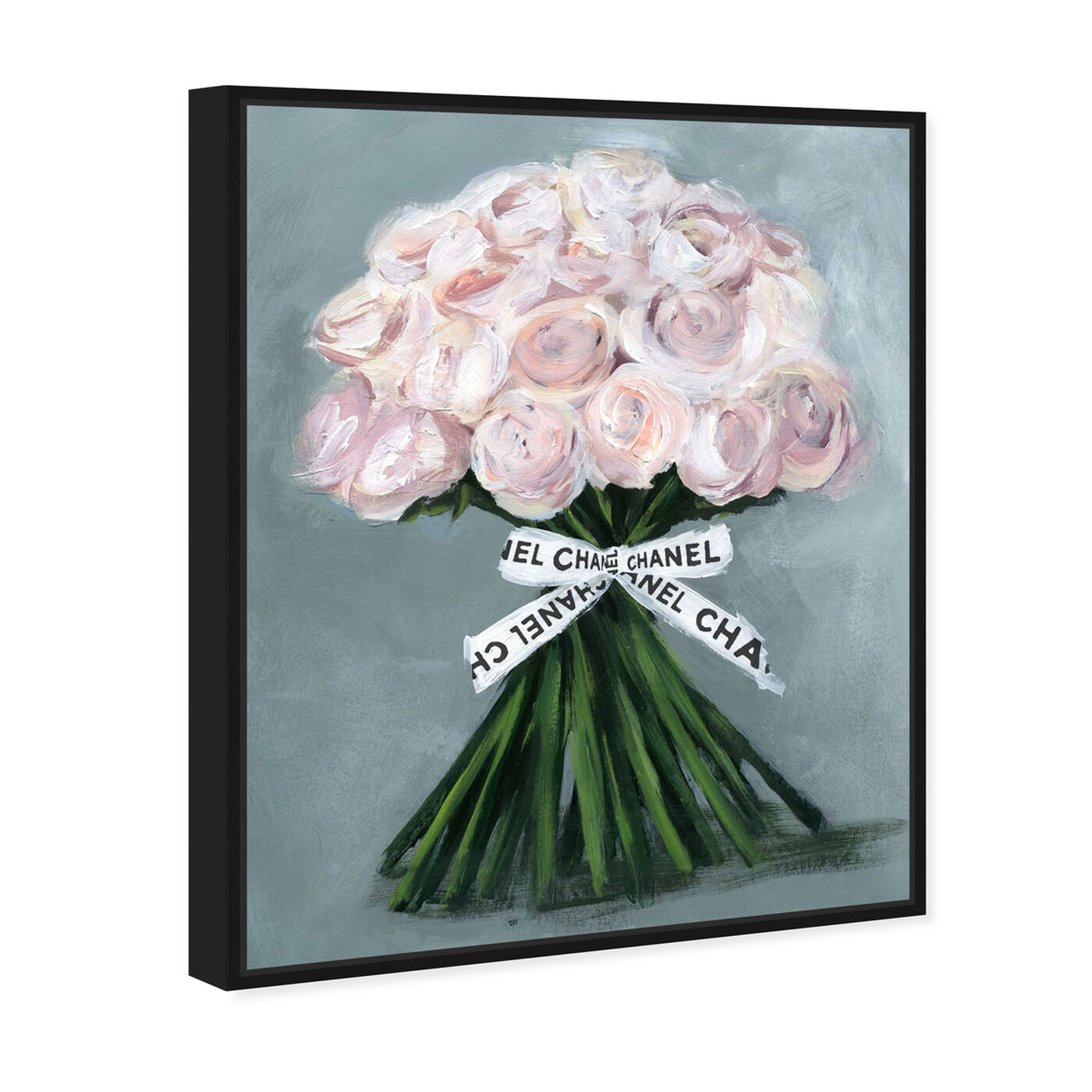Angled view of The Perfect Bouquet featuring floral and botanical and florals art.