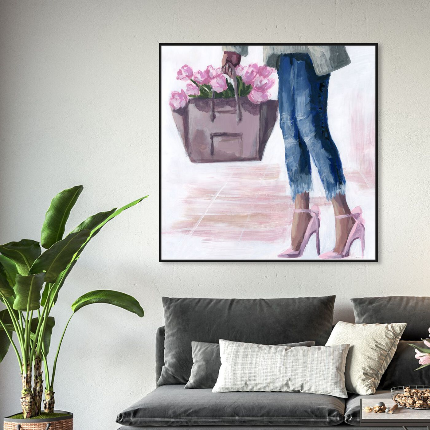 Hanging view of Picks From The Market featuring fashion and glam and outfits art.
