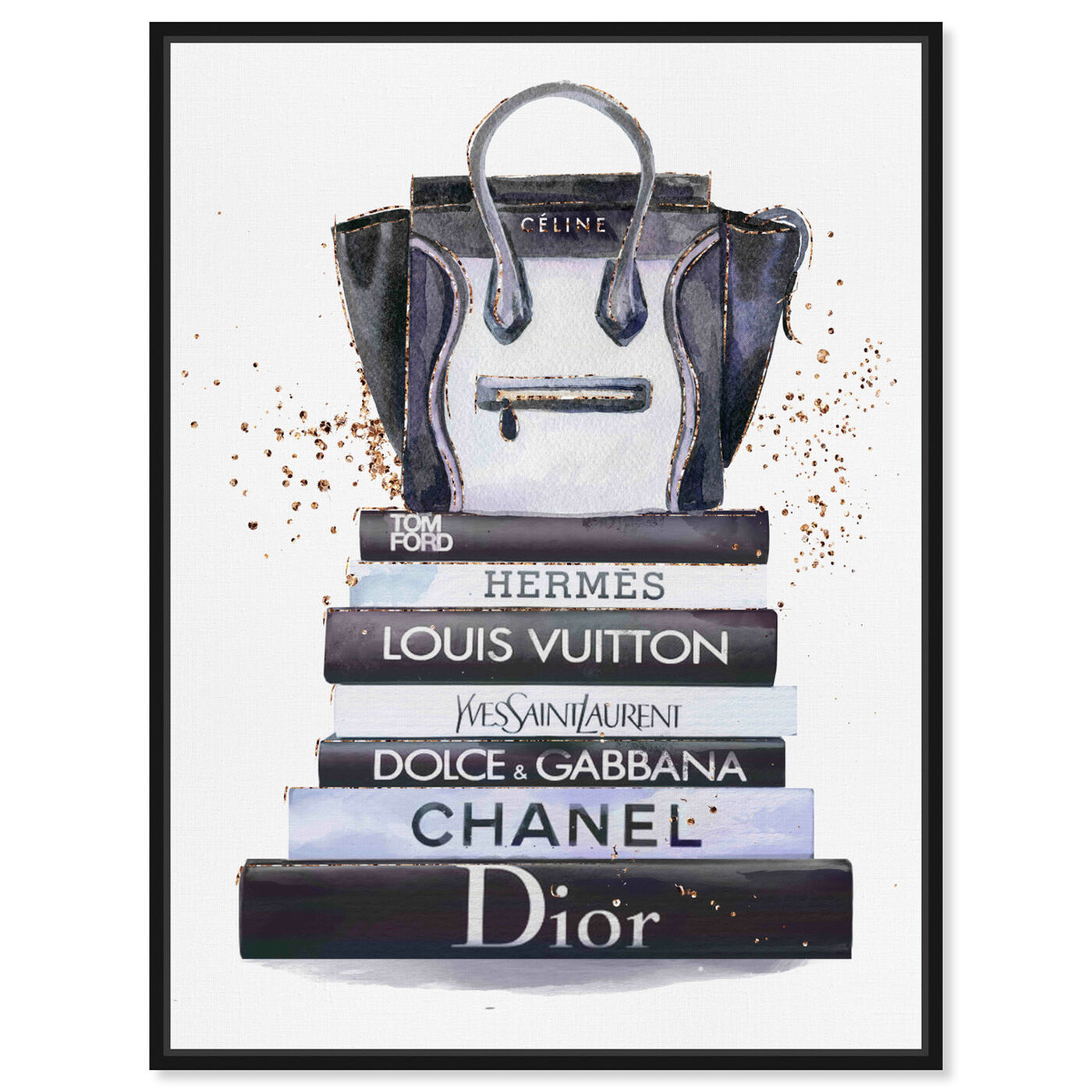 Front view of Fashion Bag at sunlight featuring fashion and glam and handbags art.