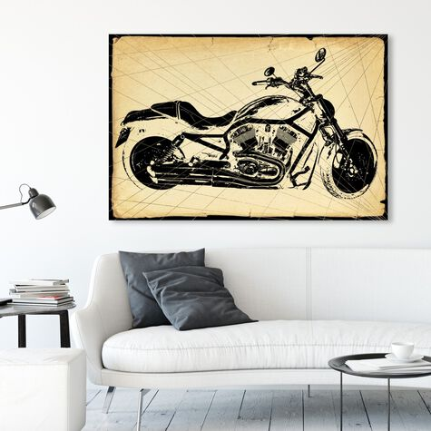 Harley Print