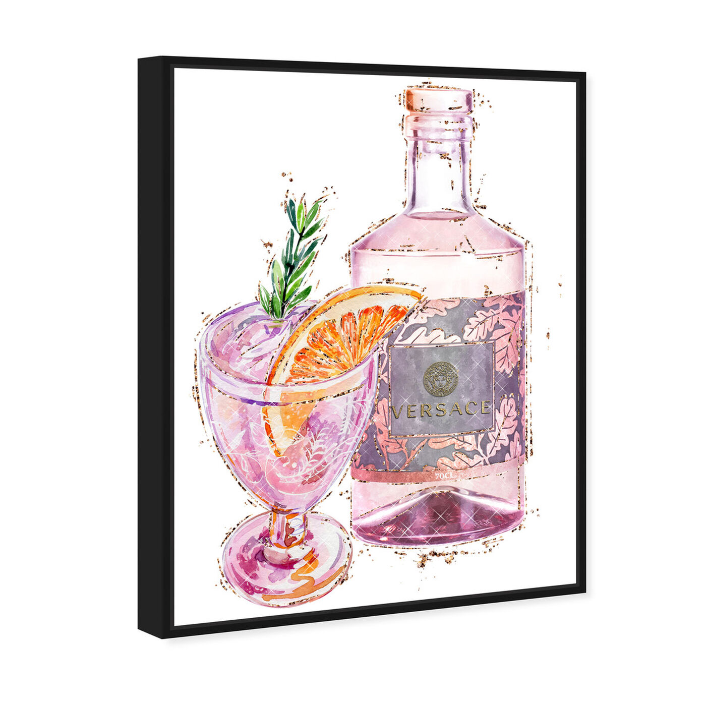 Angled view of Bitters in Italy featuring drinks and spirits and cocktails art.