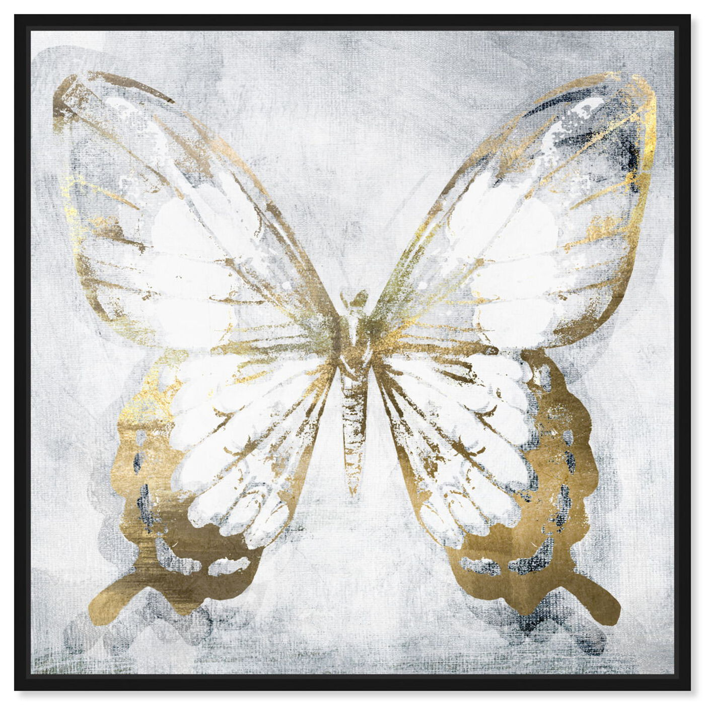 Front view of Butterfly Eroded featuring animals and insects art.