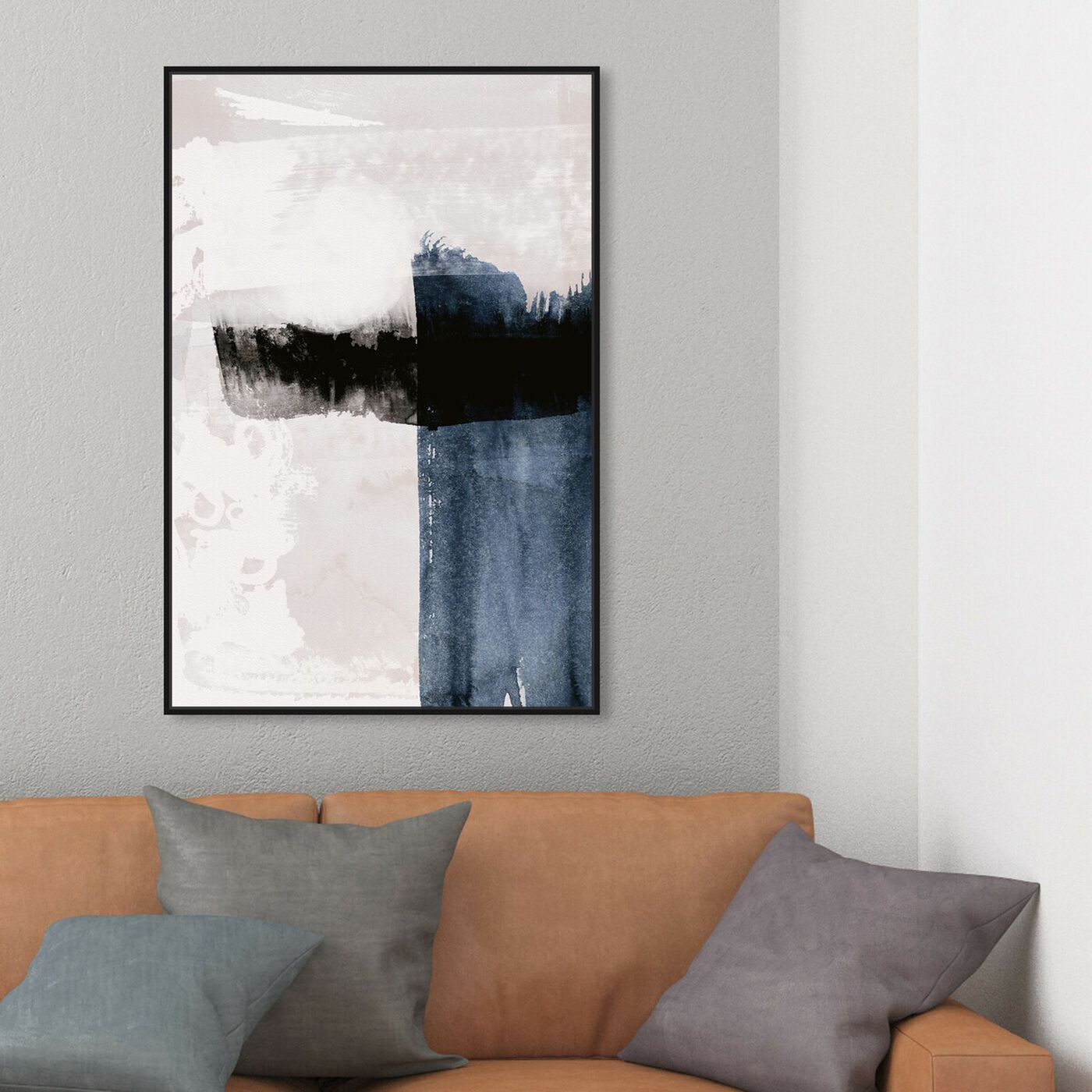 Hanging view of Bliss featuring abstract and paint art.