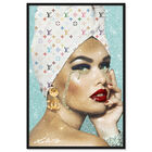 Front view of When First Class Is featuring fashion and glam and portraits art. image number null