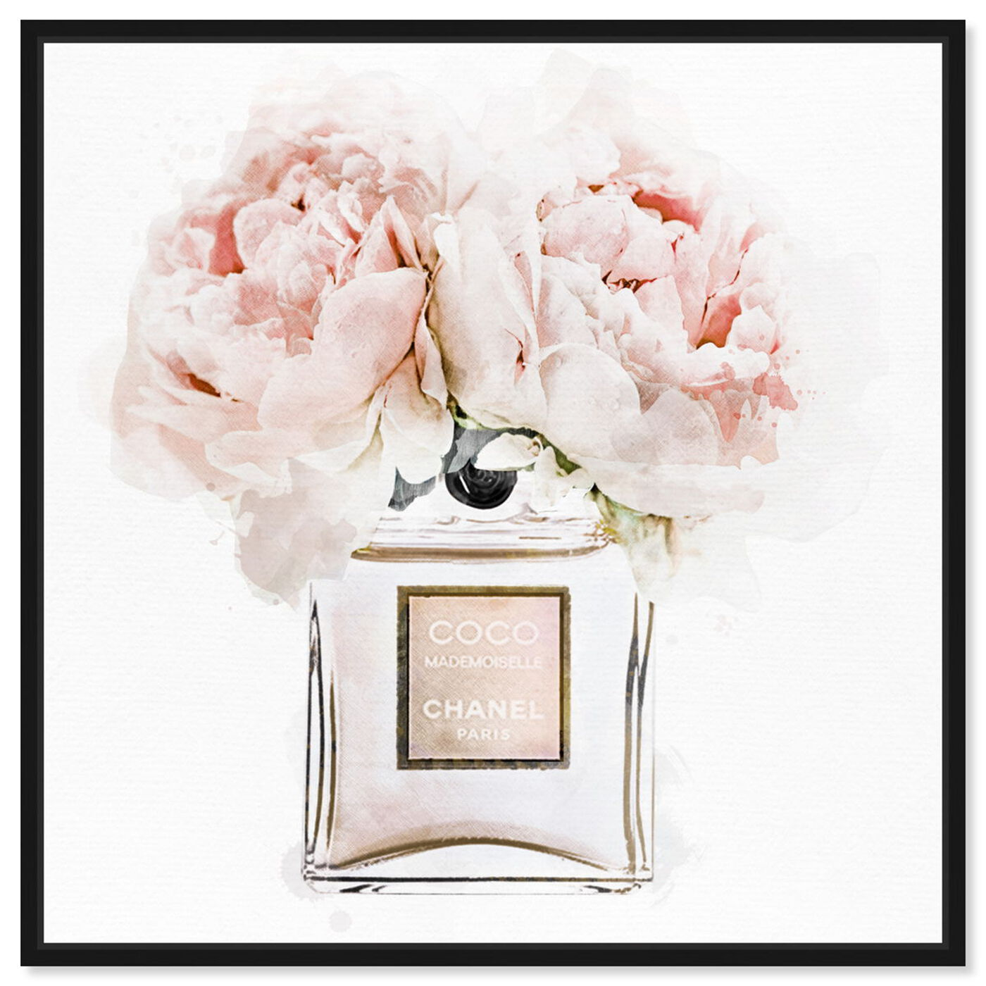 Front view of Dawn Morning Bouquet Peach featuring fashion and glam and perfumes art.