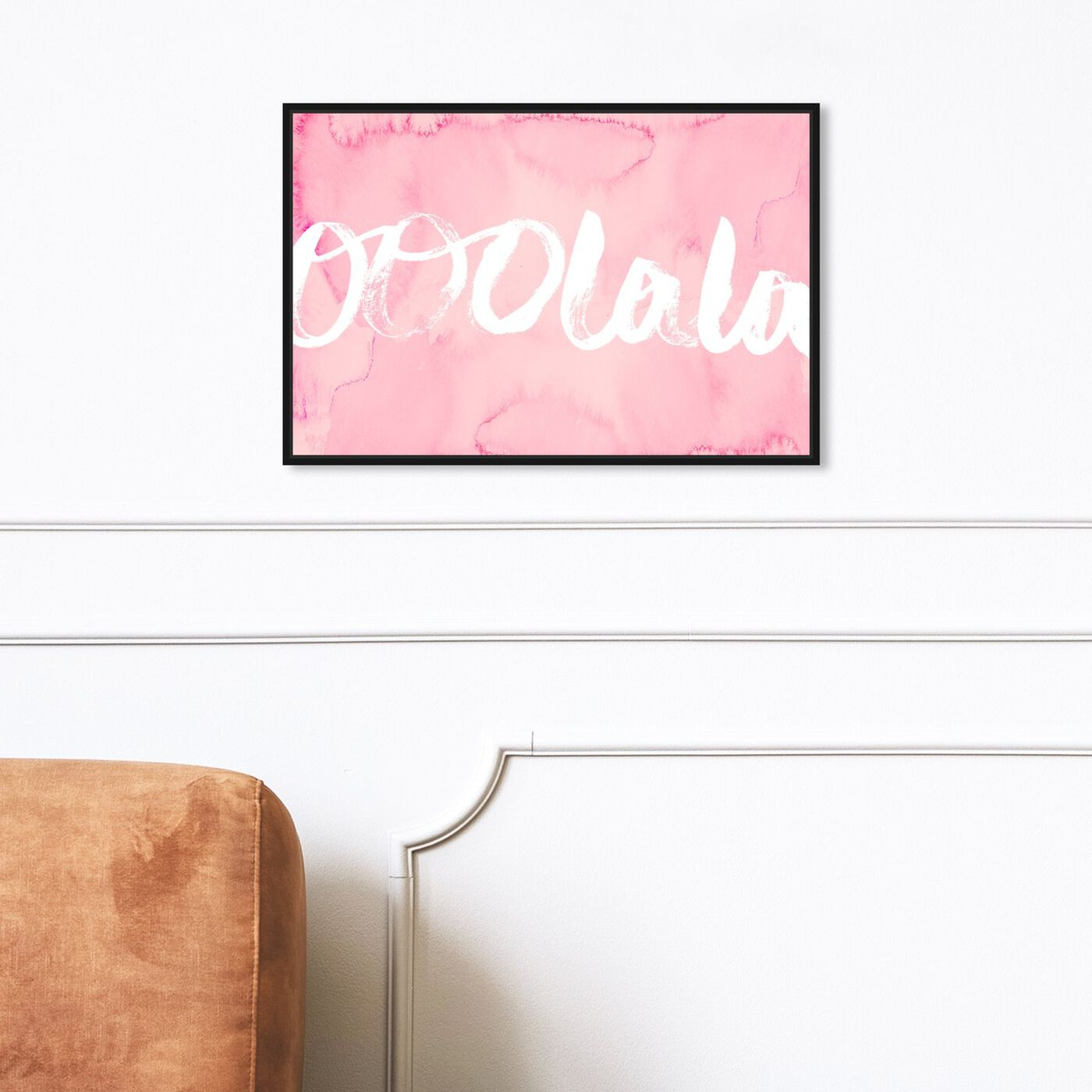 Hanging view of Fancy! featuring typography and quotes and fashion quotes and sayings art.