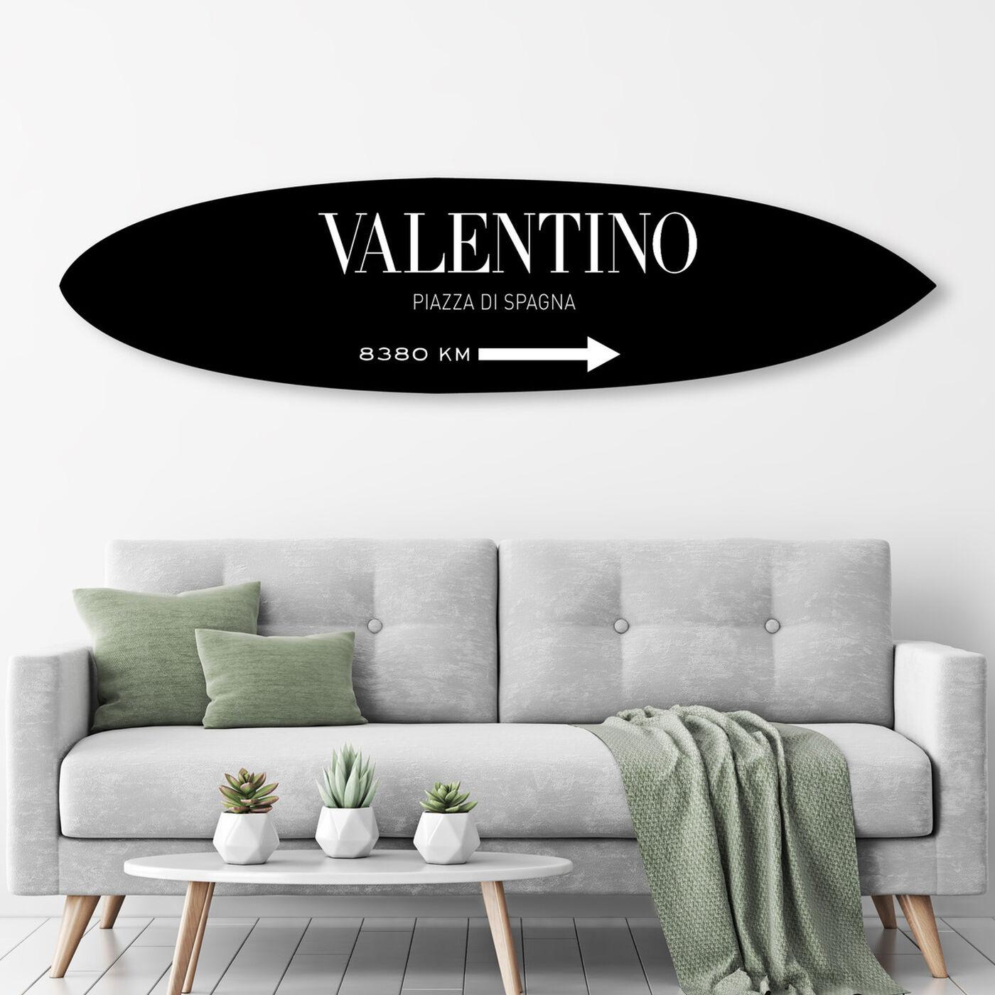 Piazza Surf Board BW