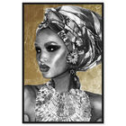 Front view of Goddess of Nile featuring fashion and glam and portraits art. image number null