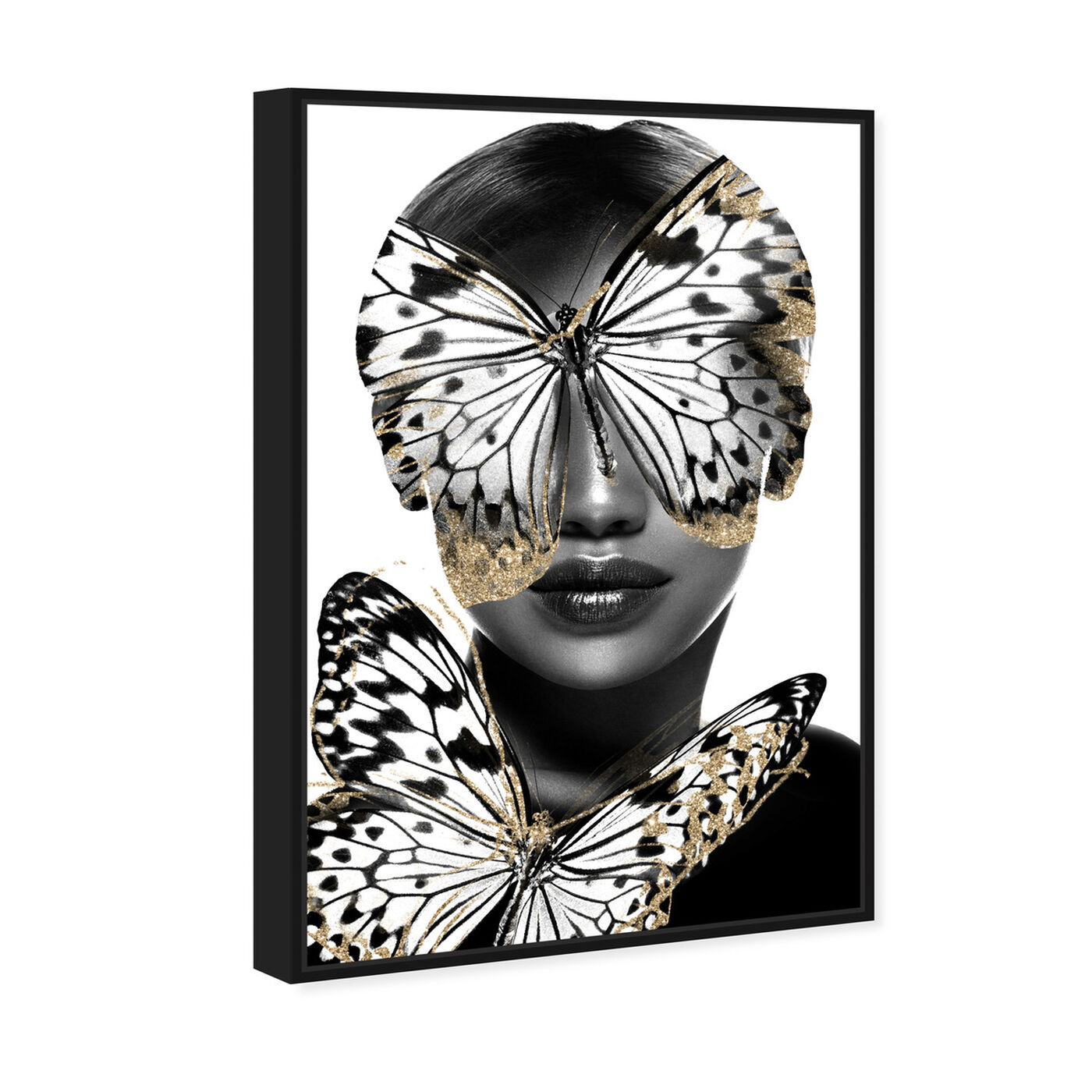 Angled view of Royalty of Monarch Wings featuring fashion and glam and portraits art.