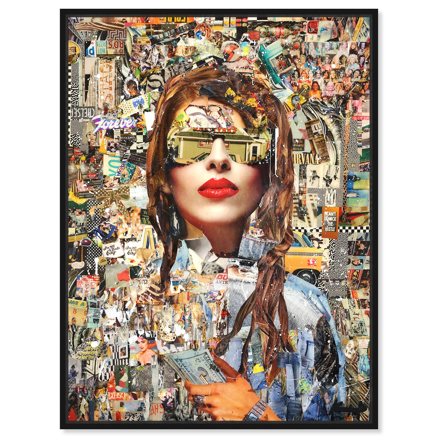 Front view of Katy Hirschfeld - Successful featuring fashion and glam and portraits art.