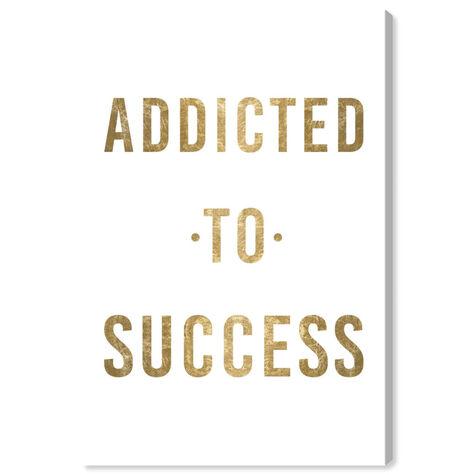 Addicted to Success Gold Metallic